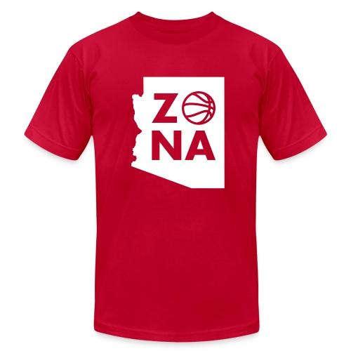 Zona Basketball - Men's Fine Jersey T-Shirt