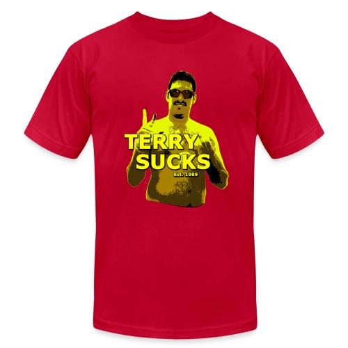 Terry Sucks Men's T-Shrt - Men's Fine Jersey T-Shirt