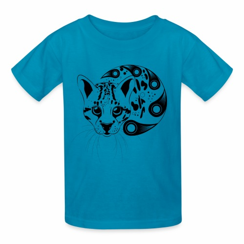 Kid's Ocelot Big Cat - Kids' T-Shirt
