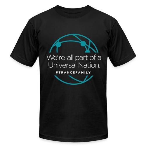 M.I.K.E. Push Universal Nation Black - Men's  Jersey T-Shirt