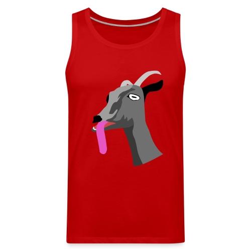 Red Goat Tank - Men's Premium Tank
