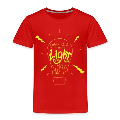 Light Of The World - Toddler Premium T-Shirt