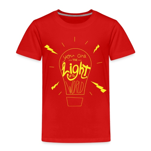 Light Of The World - Toddler Premium T-Shirt