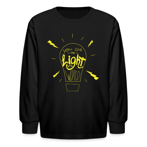 Light Of The World - Kids' Long Sleeve T-Shirt