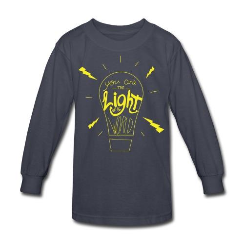 Light Of The World - Kids' Long Sleeve T-Shirt