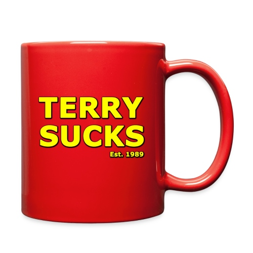 Terry Sucks Mug - Full Color Mug