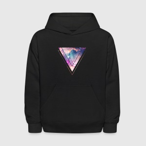 Galaxy - Space - Universe / Hipster Triangle Sweatshirts - Kids' Hoodie