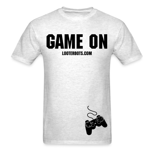 Game on with graphic controller - Men's T-Shirt