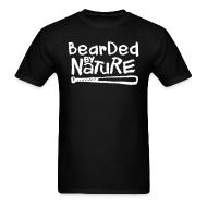 T-Shirts ~ Men's T-Shirt ~ Bearded By Nature