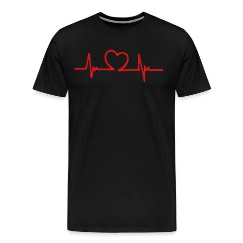 Heart beat - Men's Premium T-Shirt