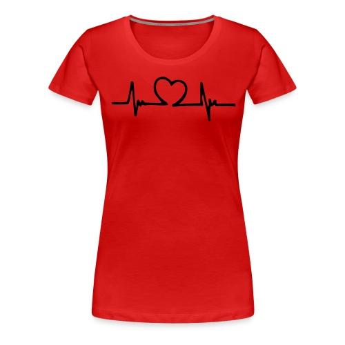 Heart beat - Women's Premium T-Shirt