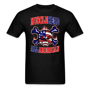 Musclehead All American  - Men's T-Shirt