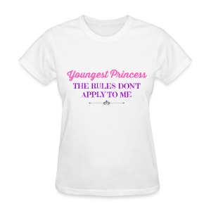 BEST SELLER- Youngest Princess - Women's T-Shirt