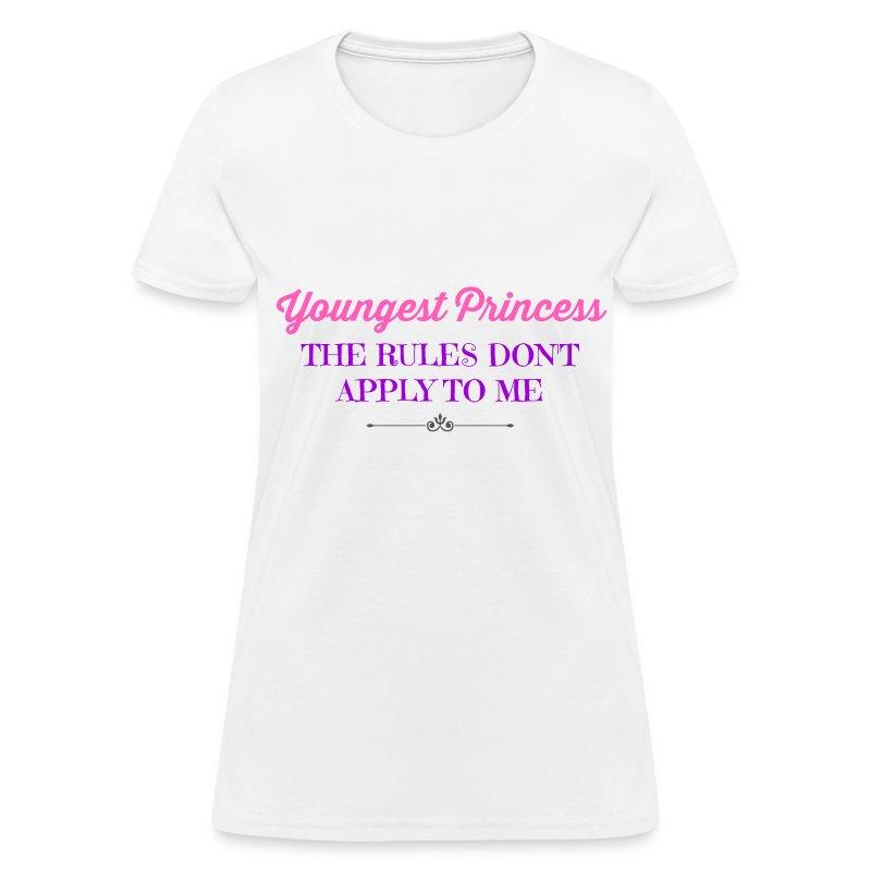 BEST SELLER- Youngest Princess - Women's T-Shirt