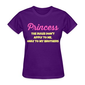 Rules Are for My Brothers - Women's T-Shirt