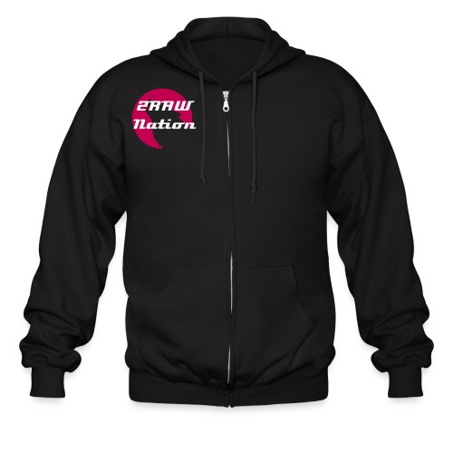 2RAW Nation Zip Up - Men's Zip Hoodie