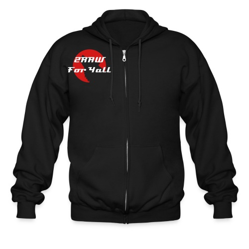 2RAW For Yall Zip Up - Men's Zip Hoodie