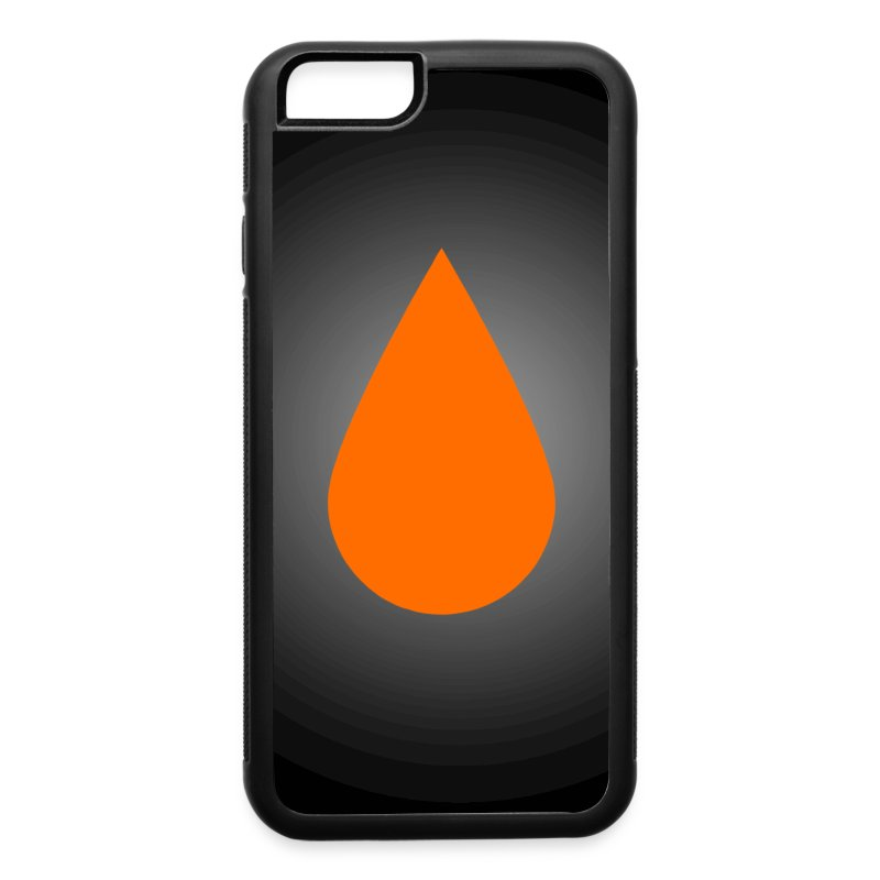GeeksterInk Ink Drop iPhone 6 Rubber Case - iPhone 6/6s Rubber Case