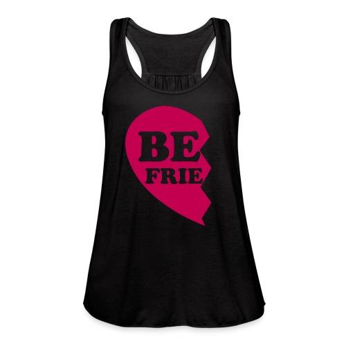 I Heart My BestFriend - Women's Flowy Tank Top by Bella