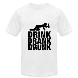 Drink! Drank! Drunk! - Men's Fine Jersey T-Shirt
