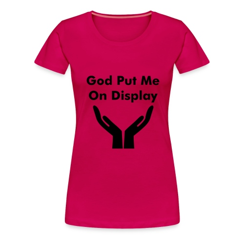 Christian Tee  - Women's Premium T-Shirt