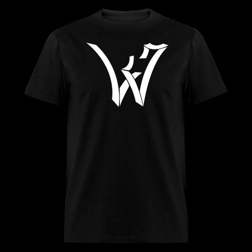 WEG Logo, White  - Men's T-Shirt