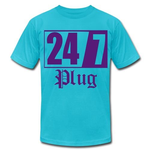 AA 247Plug - Men's  Jersey T-Shirt