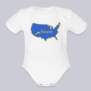 Finest - Short Sleeve Baby Bodysuit