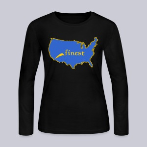 Finest - Women's Long Sleeve Jersey T-Shirt