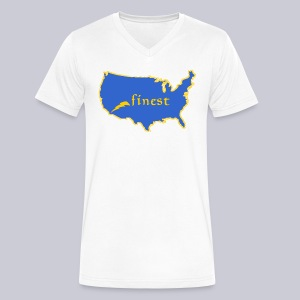 Finest - Men's V-Neck T-Shirt by Canvas