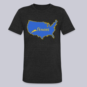 Finest - Unisex Tri-Blend T-Shirt by American Apparel