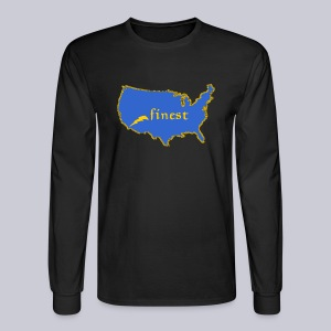 Finest - Men's Long Sleeve T-Shirt