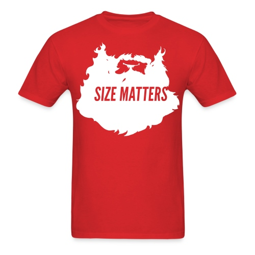 Action Bronson Size Matters Tee [Red] - Men's T-Shirt