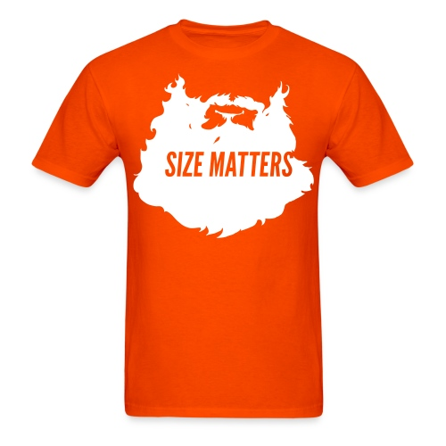 Action Bronson Size Matters Tee [Orange] - Men's T-Shirt