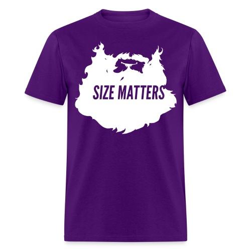 Action Bronson Size Matters Tee [Purple] - Men's T-Shirt