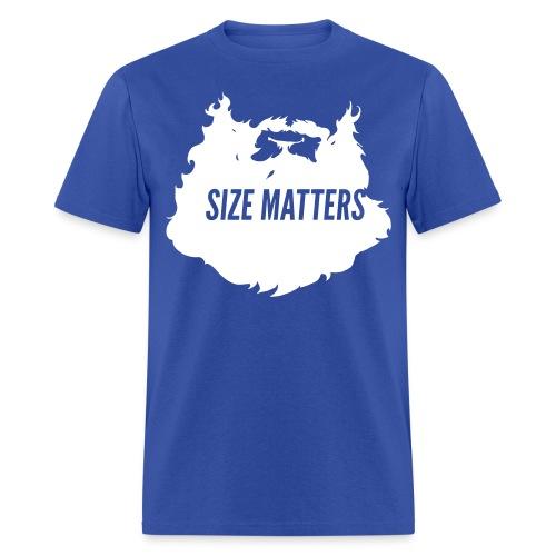Action Bronson Size Matters Tee [Blue] - Men's T-Shirt