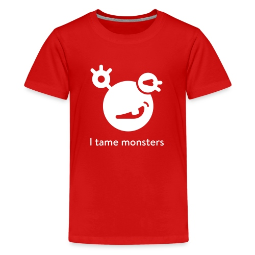 Kids' Premium T-Shirt - A shirt for your kid, your hero, the youngest diabetes monster tamer! Want more info about the monster? mysugr.com