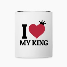 I love my King Mugs & Drinkware