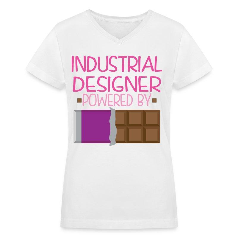 Industrial designer funny chocolate t shirt spreadshirt for Industrial design t shirt