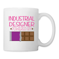 Mugs & Drinkware ~ Coffee/Tea Mug ~ Industrial Designer Womens Mug (Funny Chocolate)