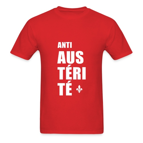 Anti AUSTÉRITÉ - Men's T-Shirt