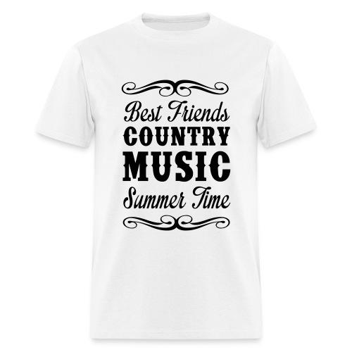Best Friends Country Music Tee - Men's T-Shirt