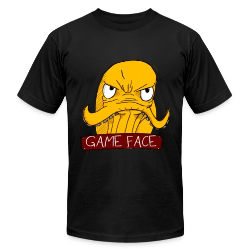 Game Face - Men's T-Shirt by American Apparel