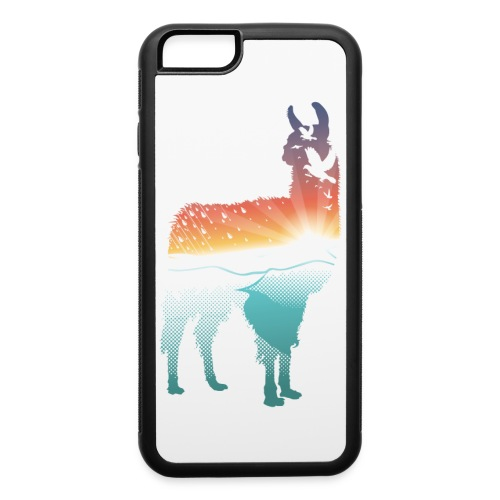 Magestic Llama Case - iPhone 6/6s Rubber Case