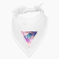 Galaxy - Space - Universe / Hipster Triangle Caps