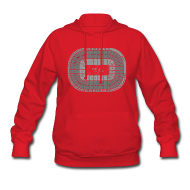 Hoodies ~ Women's Hooded Sweatshirt ~ The Joe Seating Chart
