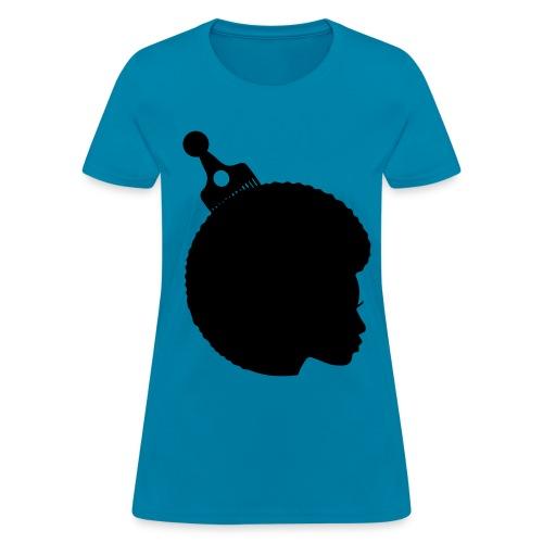 Afro Tee - Women's T-Shirt