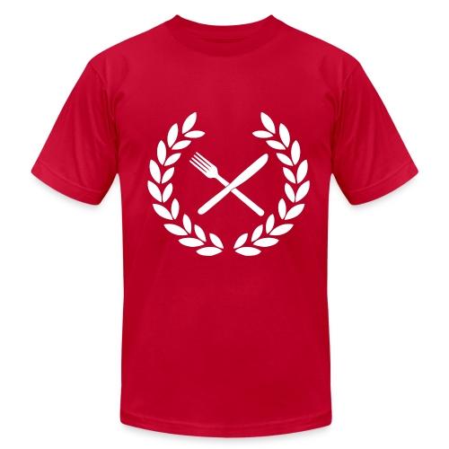 War on War on Carbs Crest Men's T Shirt - Men's Fine Jersey T-Shirt