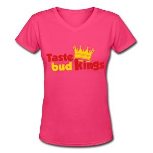 TBK Women's V-Neck - Women's V-Neck T-Shirt