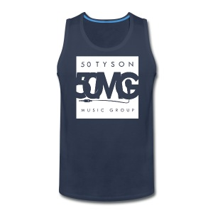 50mg full Logo mens tank top - Men's Premium Tank